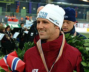 5000 meter; wie houdt Hedrick van goud af?